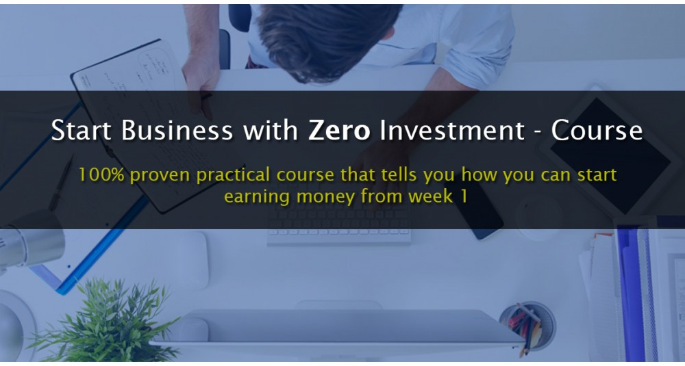 Start business with Zero Investment Académie image