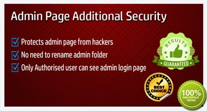OpenCart Admin Additional Security