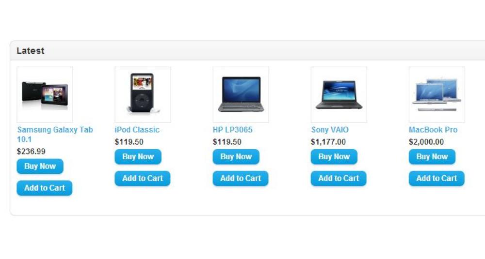 Bouton Acheter maintenant / Bouton d'achat rapide - [Module complémentaire de modèle] Extensions et modules, Extensions OpenCart image