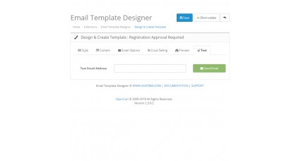 Email Template Designer PRO Pack + Newsletter Scheduler image for opencart