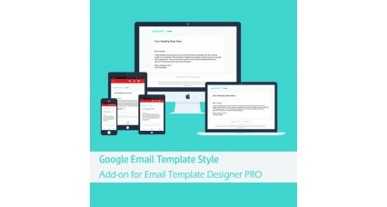 Google Responsive Email Template Style