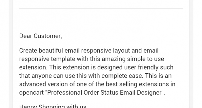 Google Responsive Email Template Style image