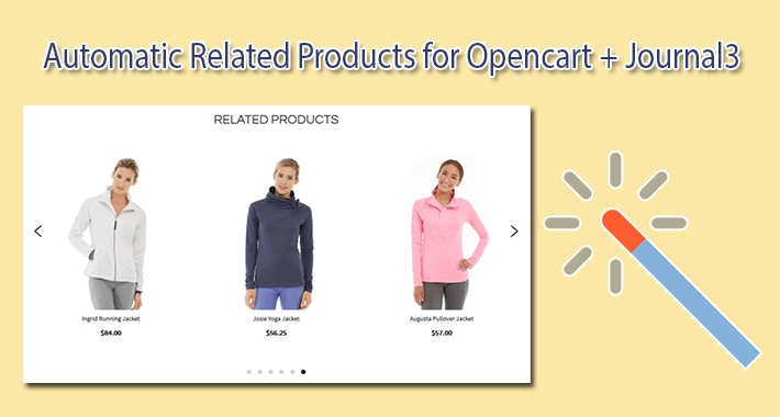 Journal3 OpenCart Auto Related Products image for opencart