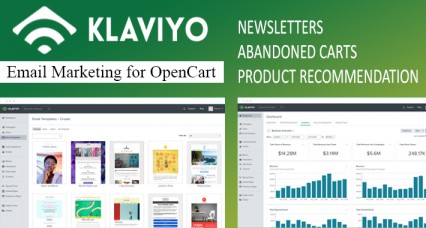 Klaviyo Integration for Opencart - Email Marketing