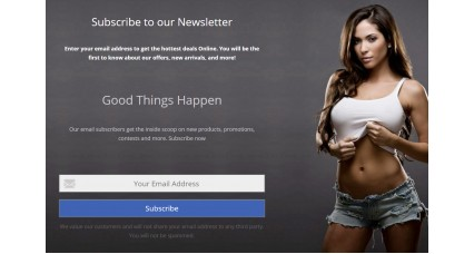 Multi-purpose Popup/block - Newsletter Subscribe - Easy Account Signup - Login Popup image