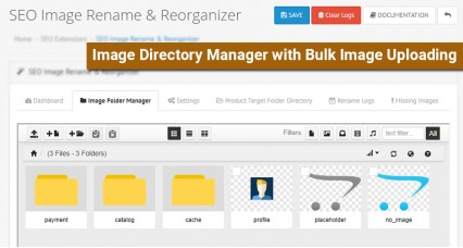 SEO Product Image Rename Manager / Image Organizer image for opencart