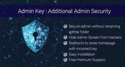 Sécurité supplémentaire d'OpenCart Admin