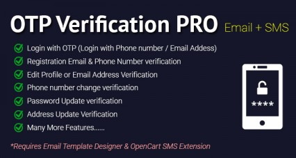 OTP Verification code PRO