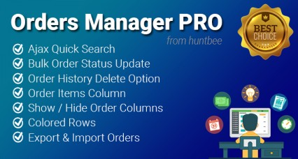 Orders Manager PRO for OpenCart - Advanced Order Management