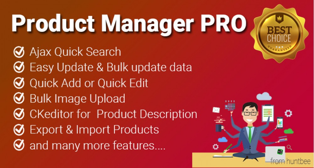 Product Manager PRO for OpenCart - Advanced Product Editor