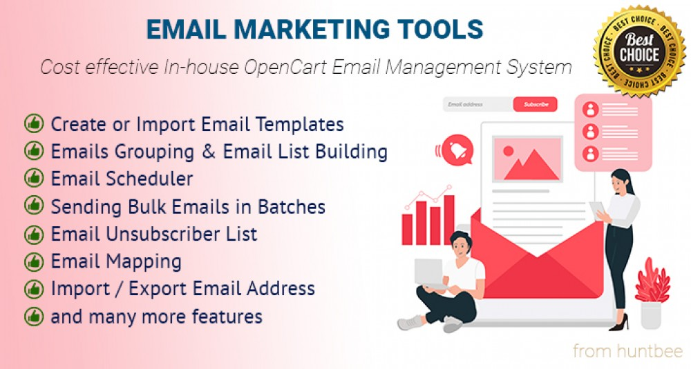 Email Marketing Tools & Campaign Management image for opencart