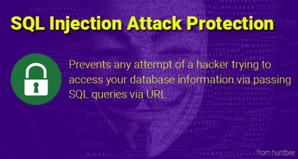 SQL Injection attack Protection