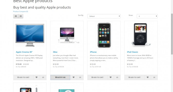 Product Stock Notification Alert - Full - Form Inline image