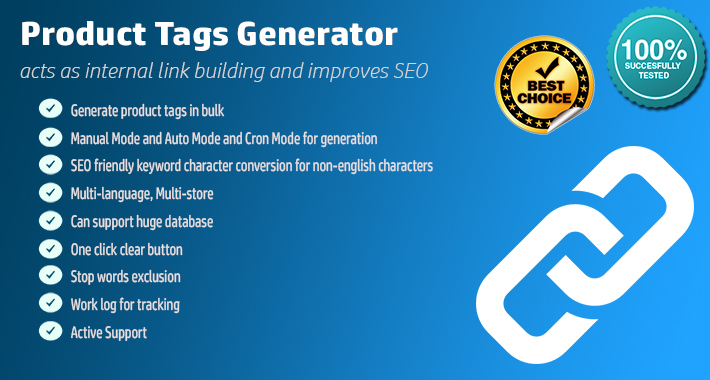 Product Tags Generator PRO - Automatic & One Click image