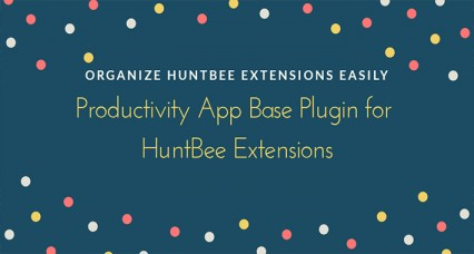 Productivity App Admin Base Plugin