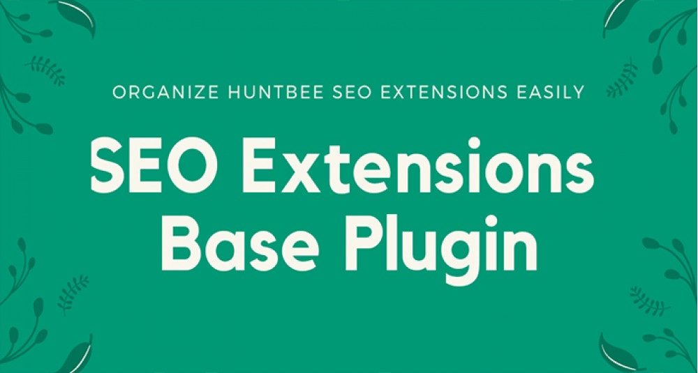 SEO Extension Admin Base Plugin image for opencart