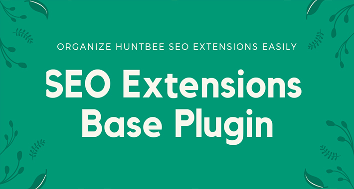SEO Extension Admin Base Plugin image