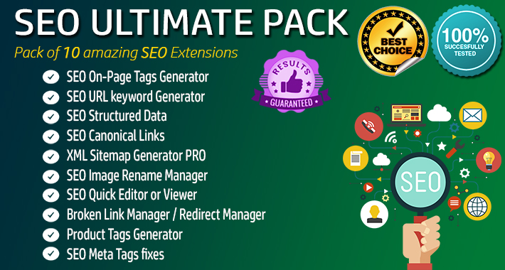 Image showing extension SEO Pack - Ultimate - All in One for opencart