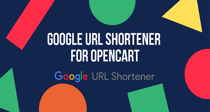 Image showing extension Google URL Shortener for OpenCart for opencart