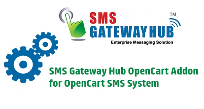 Image showing extension SMS Gateway Hub for OpenCart SMS System for opencart