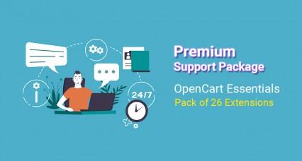 Paquete de soporte para OpenCart Essentials Pack [2000 - 2200]