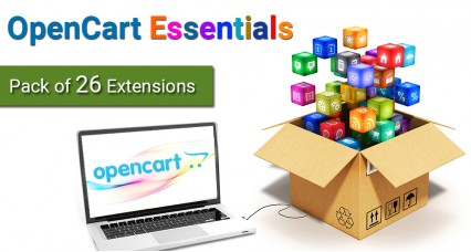 Extensions essentielles d'OpenCart (pack de 26 extensions) [2.0.0.0 to 2.2.0.0]