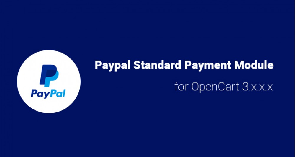 PayPal Standard for OpenCart 3.x.x.x image for opencart