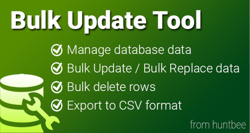 Bulk Update Tool image