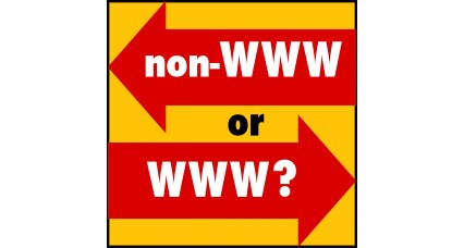 Forcer les versions d'URL www ou non-www