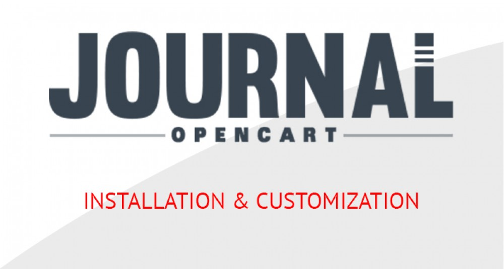 Image showing extension Journal3 OpenCart Template - Installation Setup for opencart